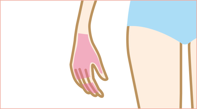 手の甲と指脱毛について